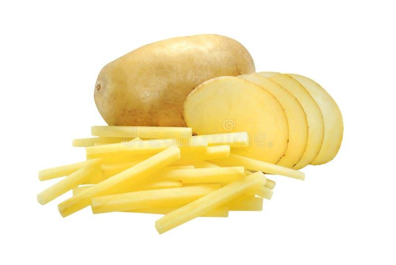 potato odosobnione white zdjęcia royalty free
