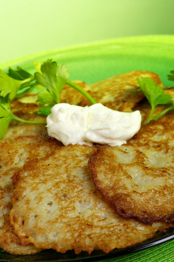 Free Potato Pancakes Stock Images - 1569414