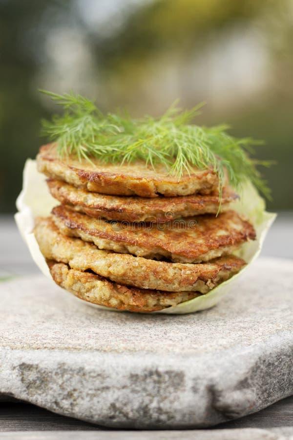 Free Potato Pancakes Royalty Free Stock Photos - 21382808