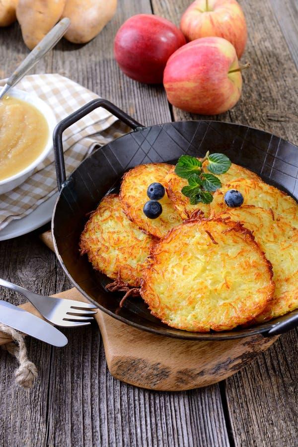 Free Potato Pancakes Stock Image - 51834851