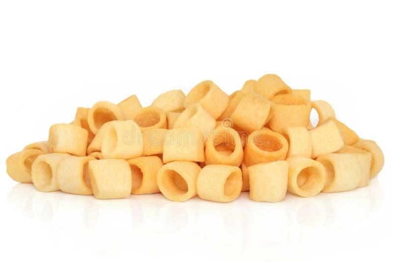 Potato Rings Snack stock photography