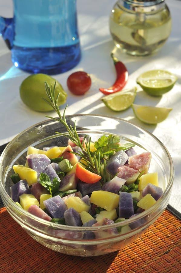 Download Potato salad stock photo. Image of lime, lunch, lemon - 22522310