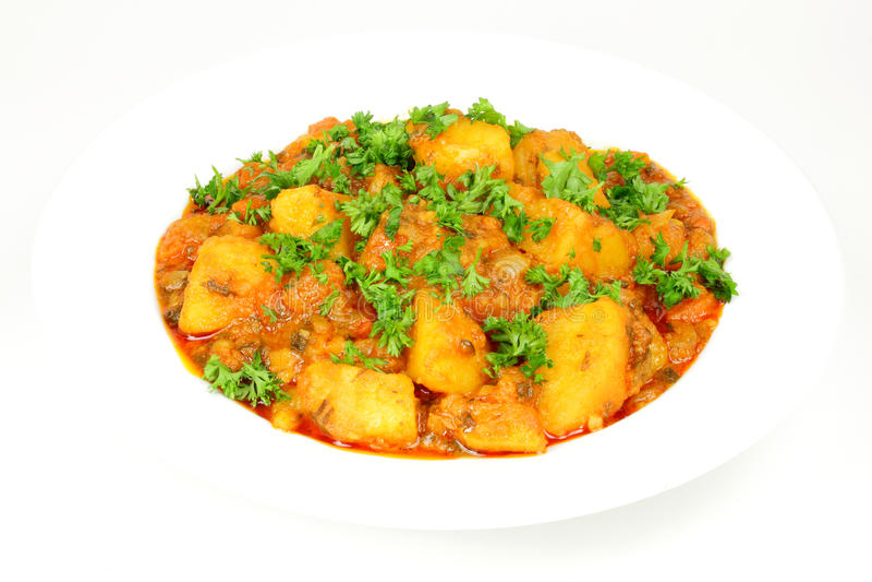 Potato stew vegetarian. stock images