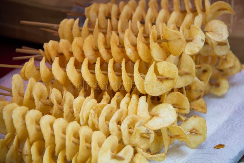 Potato Twist Stock Photo