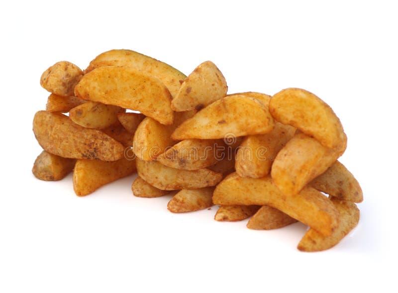 Potato Wedges. Freshly Baked Delicious Potato Wedges stock photography