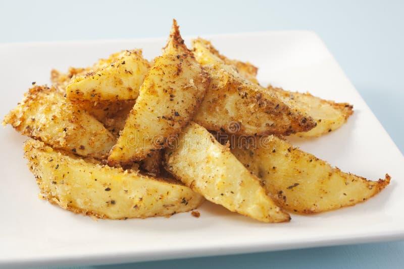 Download Potato Wedges With Cajun Seasoning Stock Photo - Image: 25485794