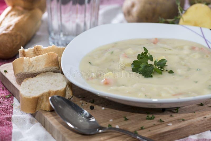 Potatoe Soup royalty free stock photos
