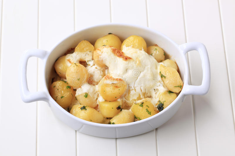 Download Potatoes and cream stock photo. Image of lunch, meal - 17222806