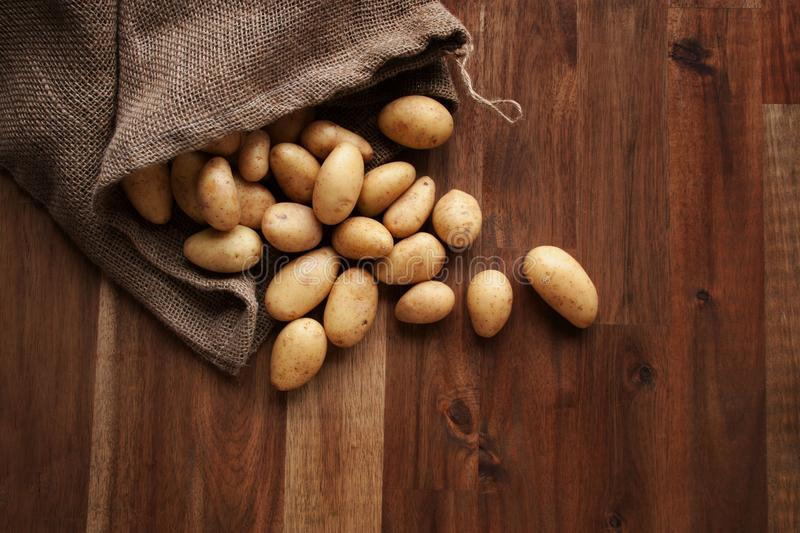 Potatoes healthy vegetables royalty free stock images
