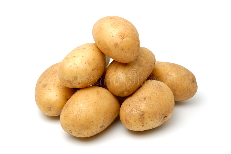 Potatos photos stock