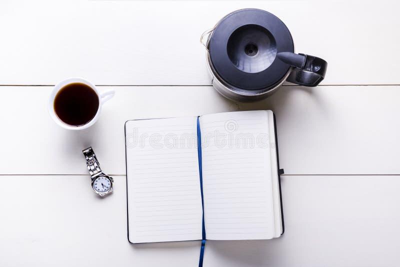 Pote de café imagen de archivo libre de regalías