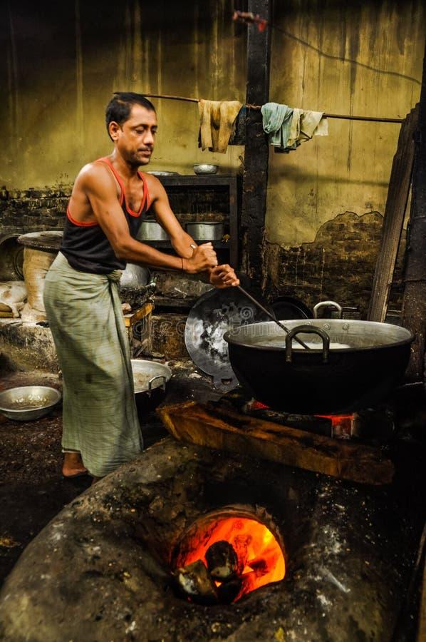 Pote grande en Bangladesh imagen de archivo libre de regalías