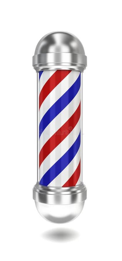 Poteau de coiffeur image libre de droits