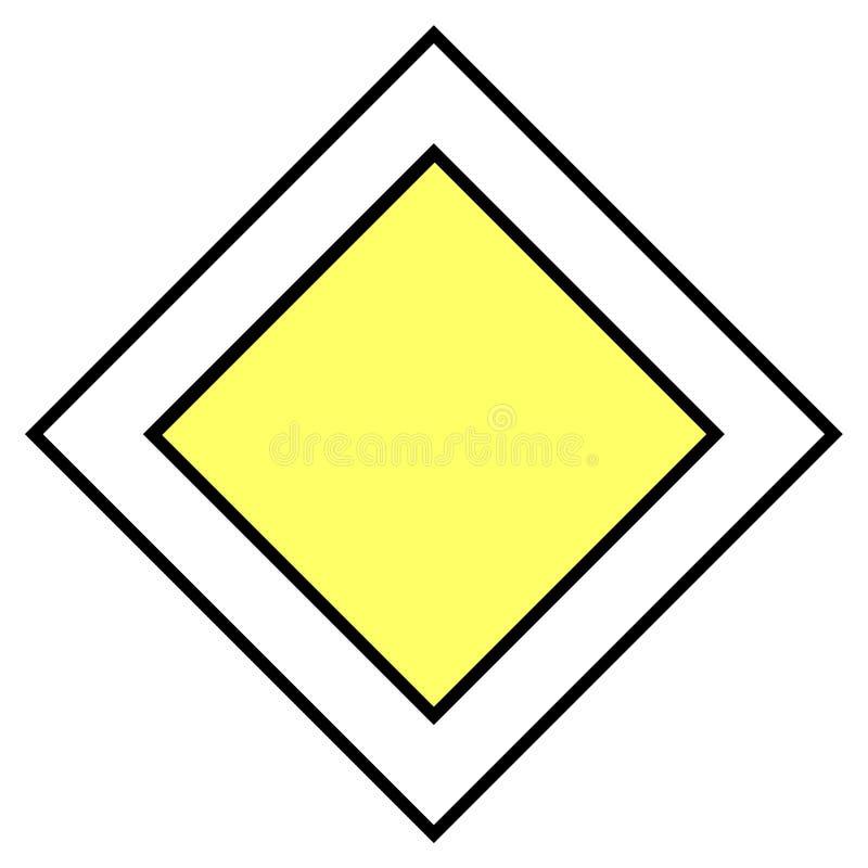 Download Poteau de signalisation illustration stock. Illustration du signe - 64803
