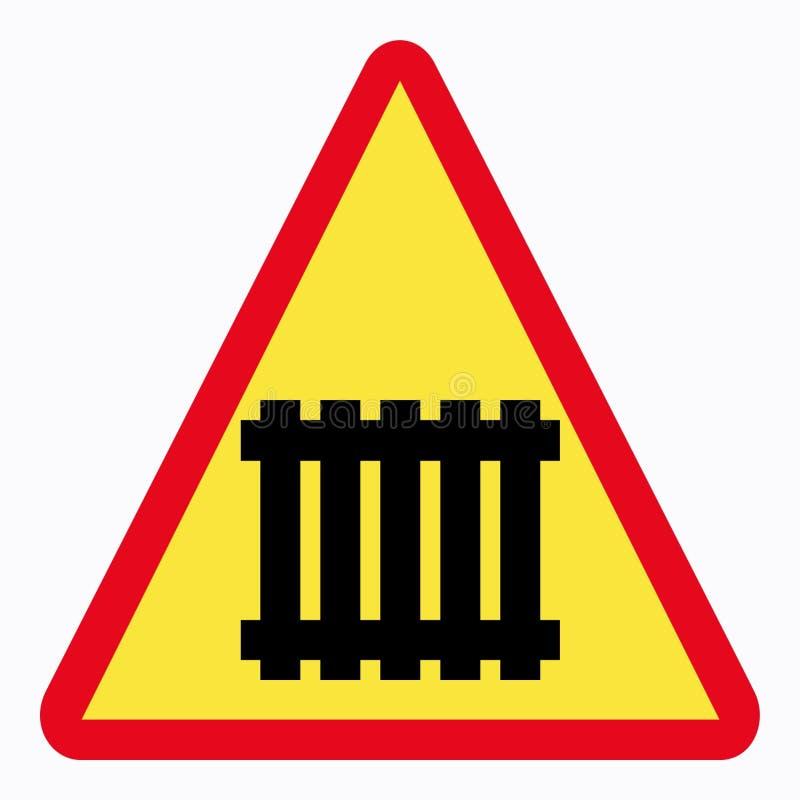 Download Poteau de signalisation illustration stock. Illustration du pistes - 64821