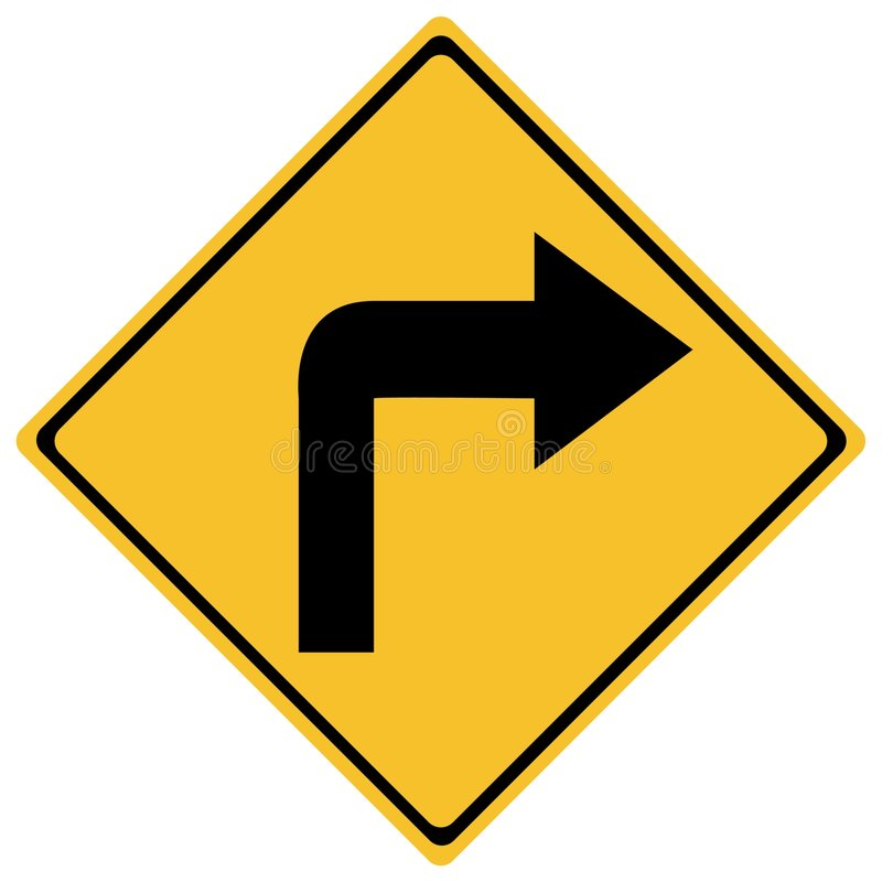 Poteau de signalisation illustration de vecteur