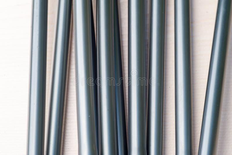 Poteau en aluminium de tente photographie stock