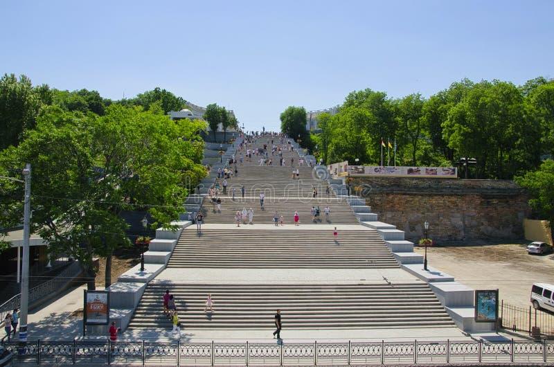 Potemkin Stairs Odessa Ukraine stock images
