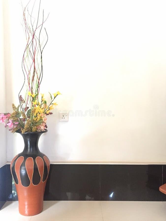 Potenciômetro de flores fotos de stock royalty free
