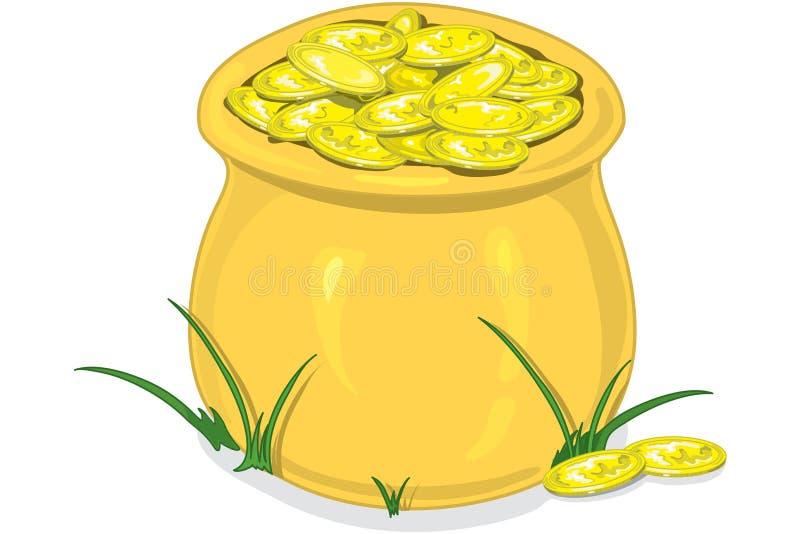 Download Potenciômetro de ouro ilustração do vetor. Ilustração de achado - 526373