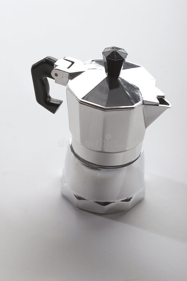 Potenciômetro do café foto de stock