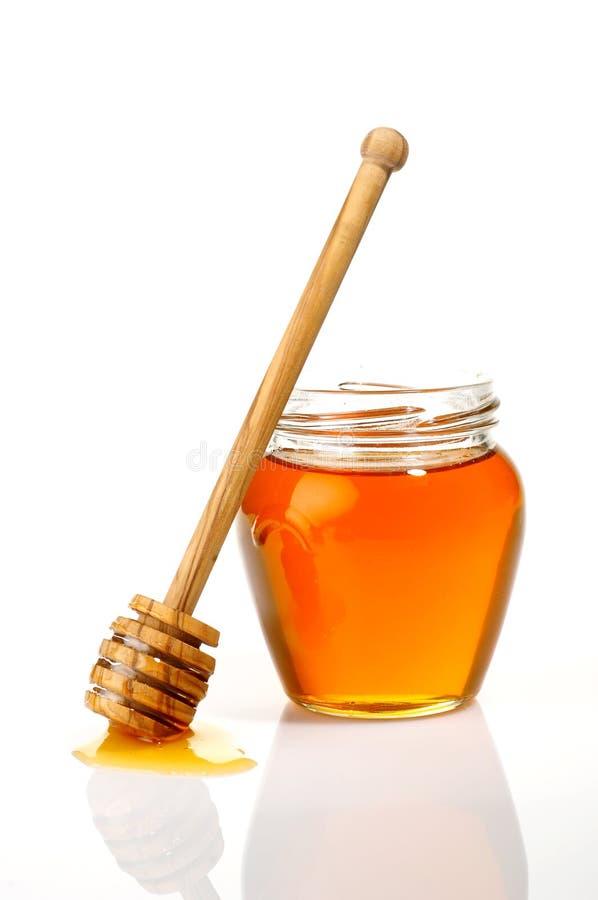Potenciômetro do mel imagem de stock