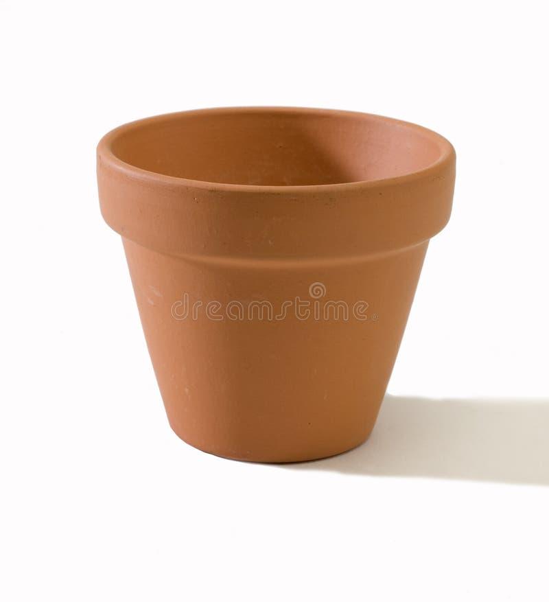 Potenciômetro do Terracotta imagem de stock