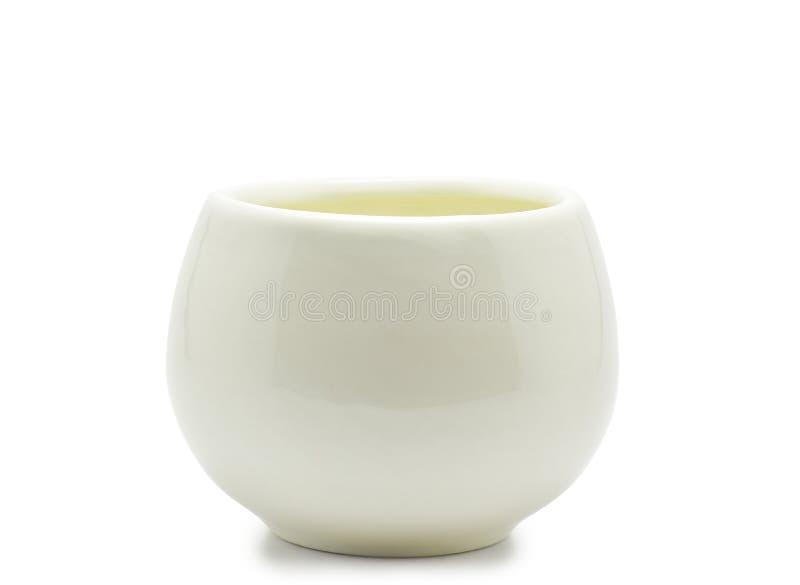 Potenciômetro, planta, copo, branco, isolado, café, caneca, chá, bebida, objeto, imagem de stock