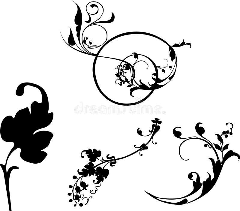 Potencia de flor stock de ilustración