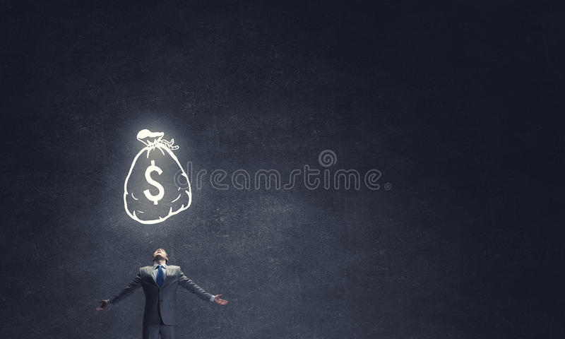 Potencia del dinero imagen de archivo