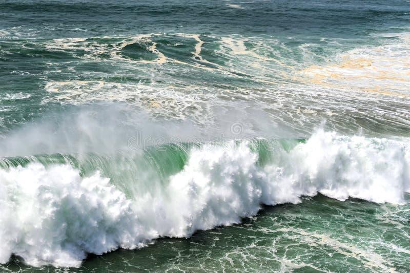 Potencia del Océano Atlántico fotografía de archivo