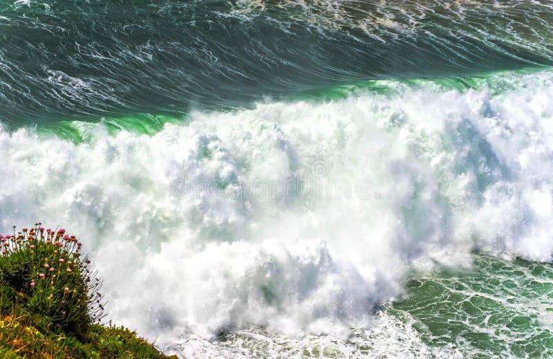 Potencia del Océano Atlántico fotos de archivo libres de regalías