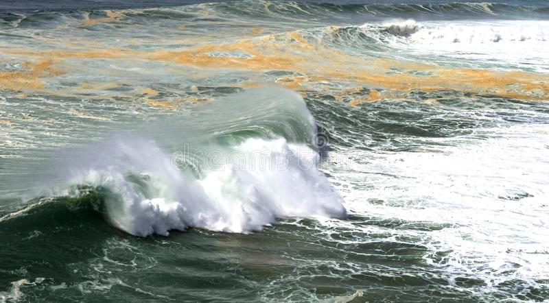 Potencia del Océano Atlántico imagenes de archivo