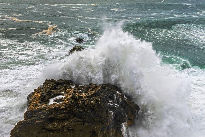 Potencia del Océano Atlántico imagen de archivo libre de regalías