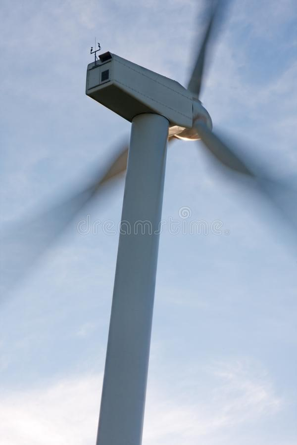 Potencia del viento fotografía de archivo