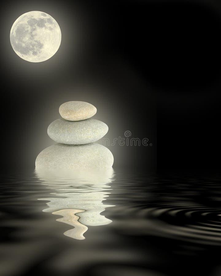 Potencia del zen foto de archivo libre de regalías