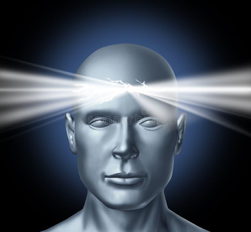 Potenza della mente royalty illustrazione gratis