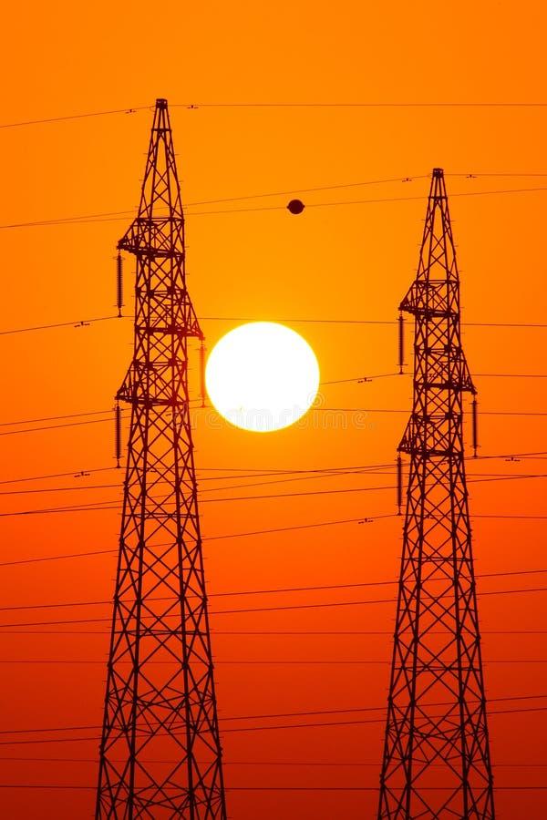 Potenza di energia fotografia stock