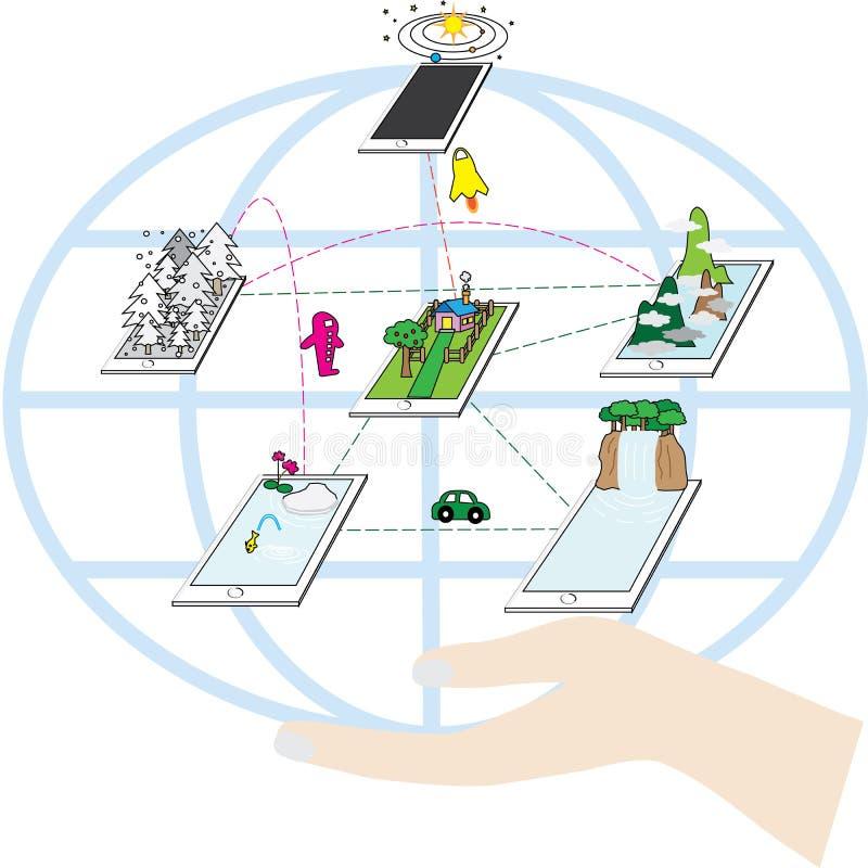 Potenza di tecnologia immagine stock libera da diritti