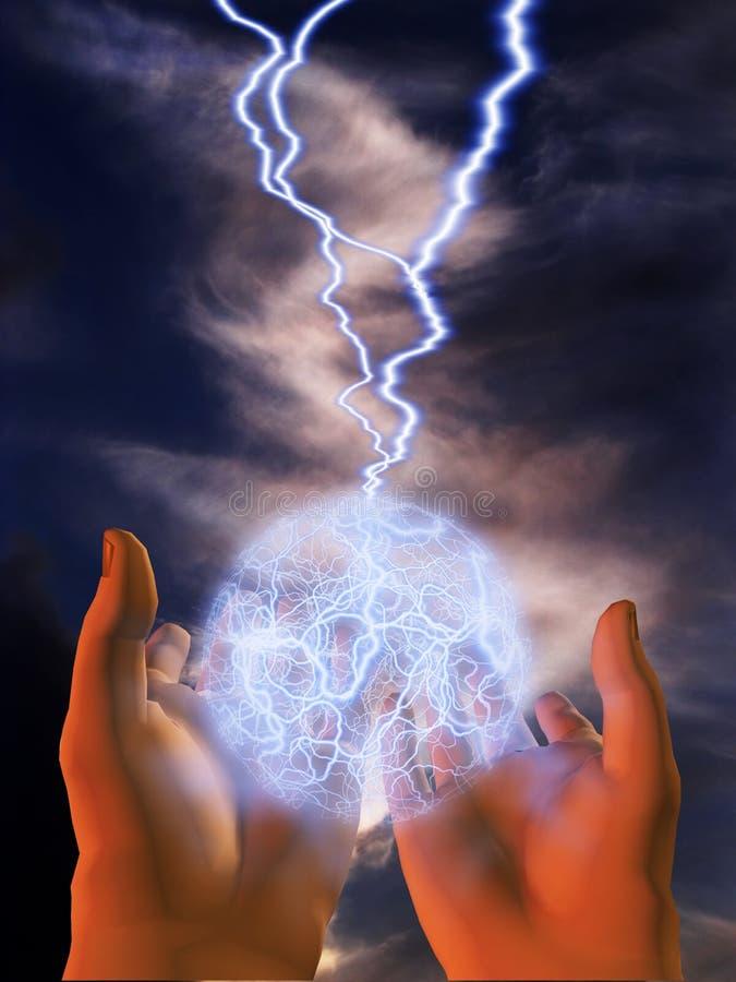 Potenza Majik illustrazione di stock