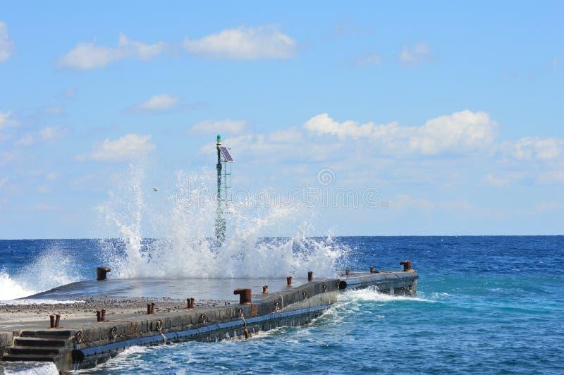 Potere del mare immagini stock