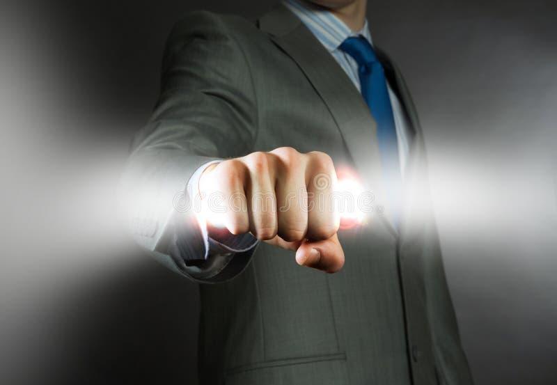 Potere di affari immagine stock libera da diritti