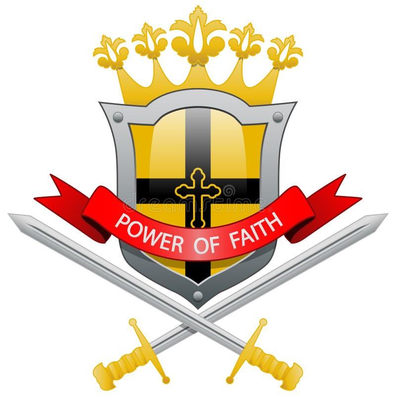 Potere di fede royalty illustrazione gratis