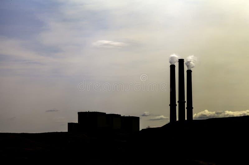 Potere infornato carbone fotografia stock