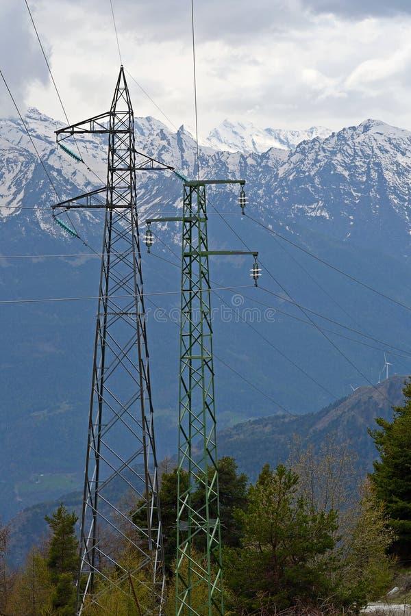 Download Potere nelle alpi immagine stock. Immagine di alternativa - 30829959