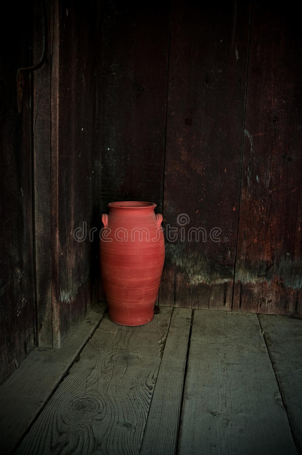 Poterie rouge image stock