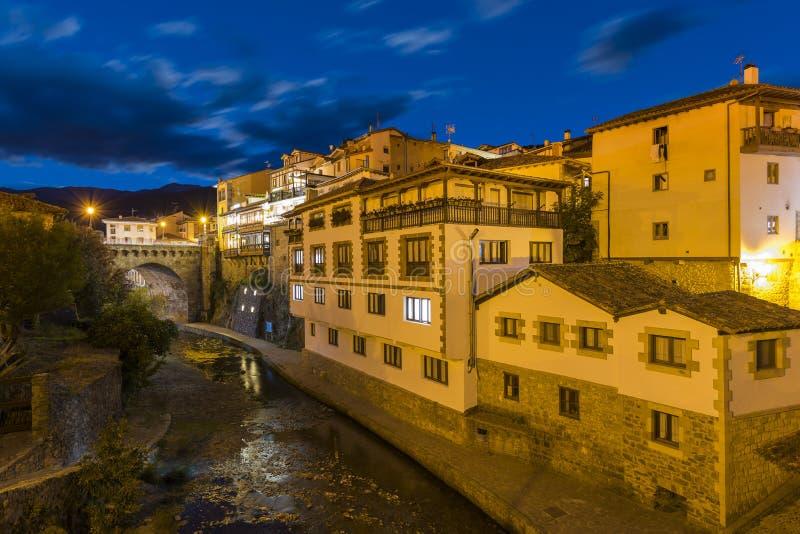 Potes Cantabrië, Spanje royalty-vrije stock foto's