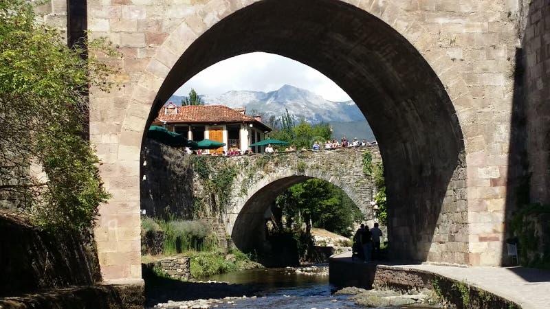 Potes, Cantabria, España fotos de archivo libres de regalías