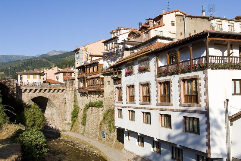 Potes, Espanha imagens de stock royalty free
