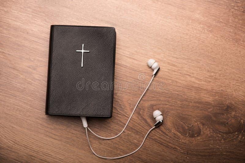 Potete ascoltare i vostri salmo favoriti fotografia stock